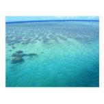Aguas del Fijian Tarjetas Postales