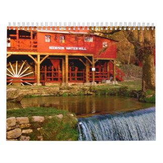 Aguas del Ozarks Calendarios