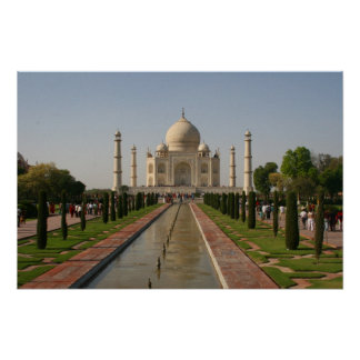 aguas del Taj Mahal Impresiones