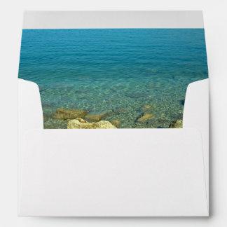 Aguas del verde azul de Bermudas