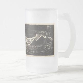 Aguas desconocidas taza de cristal