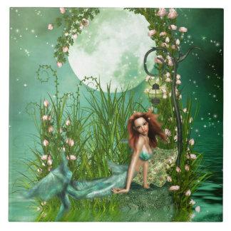 Aguas esmeralda teja