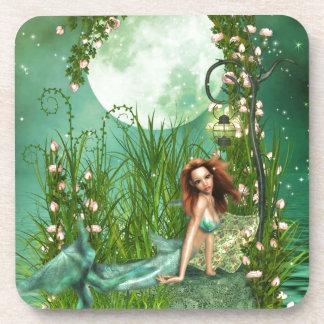 Aguas esmeralda posavaso