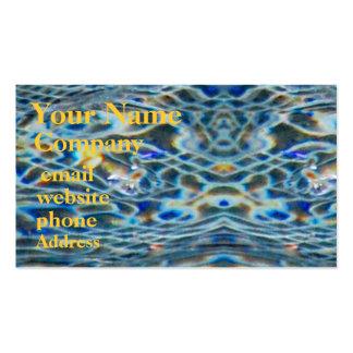 Aguas frescas - plantilla de la tarjeta de visita