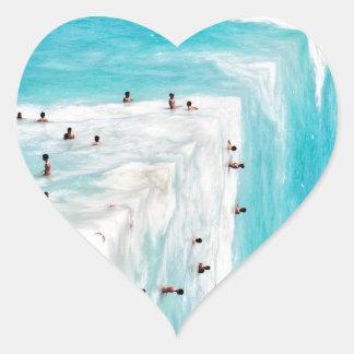Aguas Heart Sticker