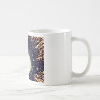Aguas perturbadas taza de café