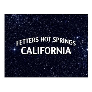 Aguas termales California de los grilletes Postales
