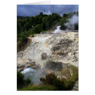 Aguas termales de Furnas Tarjeton