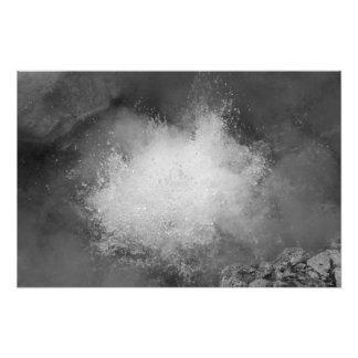 Aguas termales arte con fotos