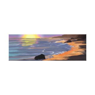 Aguas tranquilas lienzo envuelto para galerias
