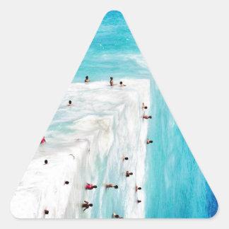 Aguas Triangle Sticker