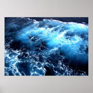 Aguas turbulentas poster
