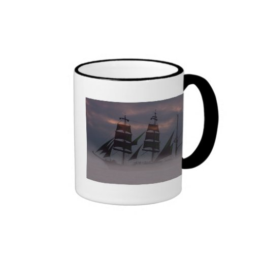 Aguas Unchartered Taza A Dos Colores