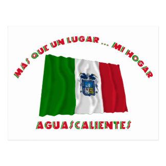 Aguascalientes - Más Que un Lugar ... Mi Hogar Postcard