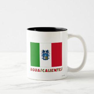 Aguascalientes Unofficial Flag Two-Tone Coffee Mug