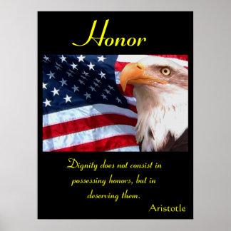 Águila 10 de los posters del honor