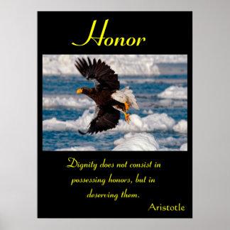 Águila 11 de los posters del honor