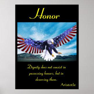 Águila 1 de los posters del honor