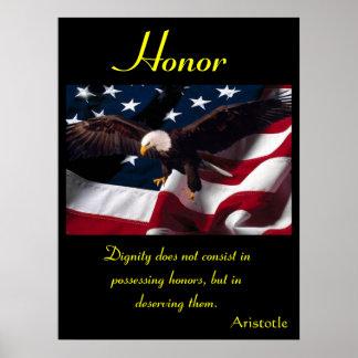 Águila 2 de los posters del honor