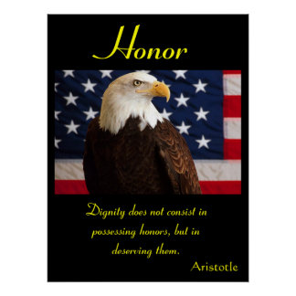 Águila 3 de los posters del honor
