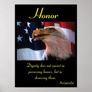 Águila 4 de los posters del honor