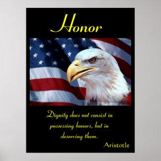Águila 7 de los posters del honor