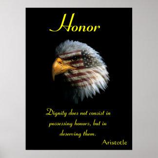 Águila 9 de los posters del honor