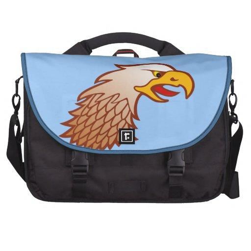 Águila cabeza Eagle head Bolsa De Ordenador