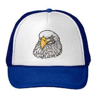 Águila calva americana gorros bordados