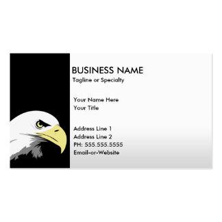 águila de la libertad tarjetas de visita
