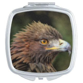 Águila de oro espejos para el bolso
