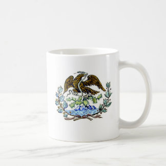 Águila de oro mexicana taza