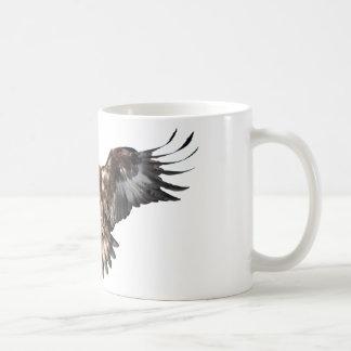 águila de oro taza básica blanca