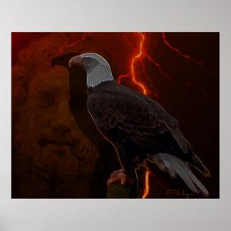 Águila de Zeus ' Impresiones