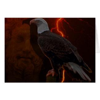 Águila de Zeus '(tarjeta)