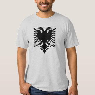 Águila dirigida doble albanesa polera