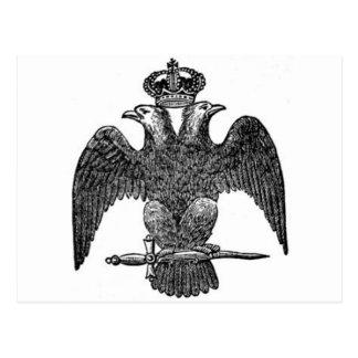 águila Doble-dirigida Postales