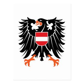 Águila escudo de armas Austria Eagle crest Austria Tarjeta Postal