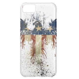 Águila patriótica, US/USA, bandera TRISTE Funda Para iPhone 5C