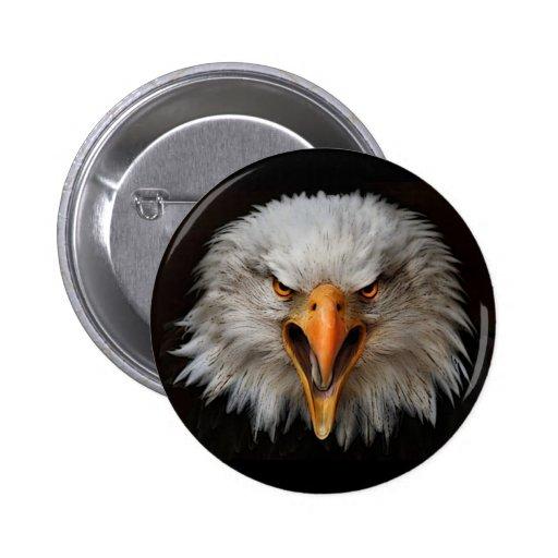 águila pin redondo 5 cm