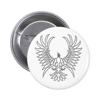águila que sube, plata pins