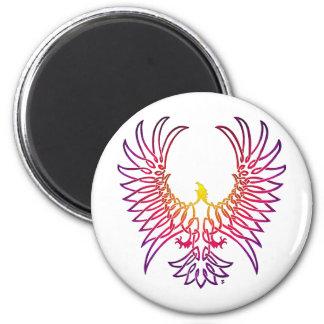 águila que sube, sunglow imán redondo 5 cm