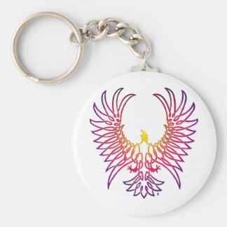 águila que sube, sunglow llavero redondo tipo pin