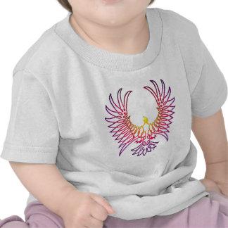 águila que sube, sunglow camiseta