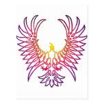 águila que sube, sunglow postal