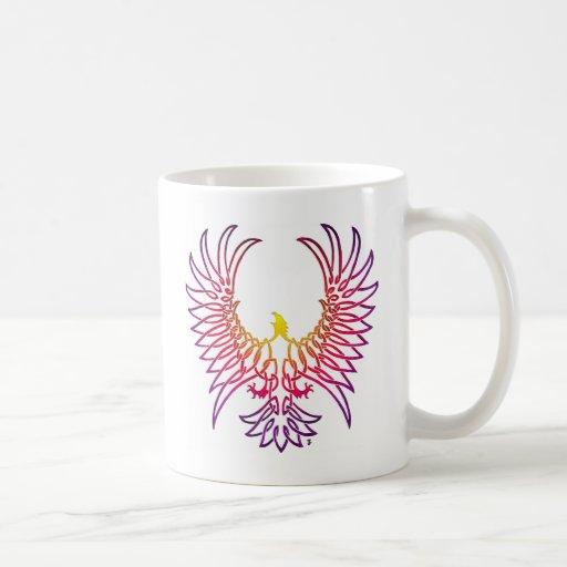 águila que sube, sunglow taza de café