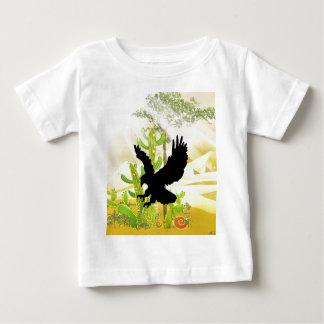 Águila sólida del aterrizaje y del éxito t-shirt