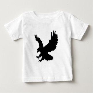 Águila sólida del aterrizaje y del éxito tee shirts
