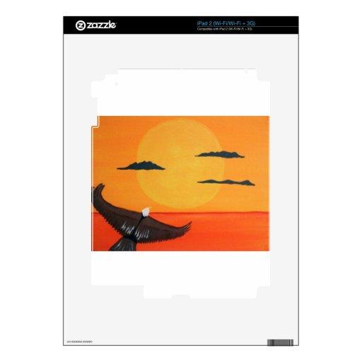 águila sunset.jpg iPad 2 skin