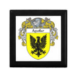 Aguilar Coat of Arms/Family Crest: Jewelry Boxes